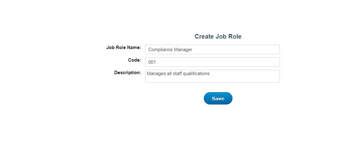 job roles